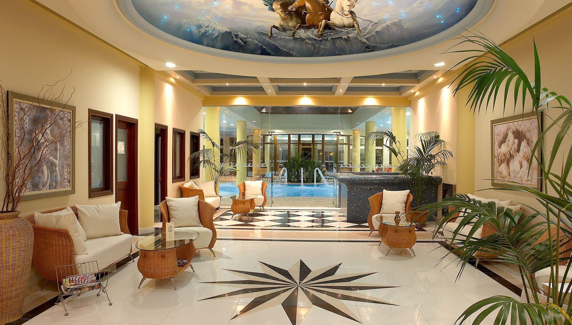 Rhodes Spa Hotel Luxury Spa In Rhodes Thalasso Spa